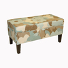 Skyline Furniture Diversey Seaglass Accent Bench