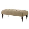Skyline Furniture Southport Sandstone Indoor Accent Bench