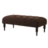 Skyline Furniture Southport Chocolate Accent Bench