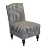 Skyline Furniture Granville Collection Black Accent Chair