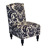 Skyline Furniture Granville Collection Black/White Accent Chair