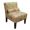 Skyline Furniture Clark Collection Candy cane Accent Chair