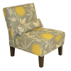 Skyline Furniture Clark Collection Dove Accent Chair