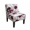 Skyline Furniture Clark Collection Plum Accent Chair