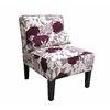 Skyline Furniture Clark Collection Plum Accent Chair