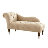 Skyline Furniture Addison Collection Buckwheat Polyester Chaise