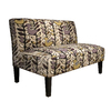 Skyline Furniture Clark Collection Amethyst Settee
