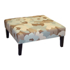 Skyline Furniture Fullerton Collection Seaglass Square Ottoman
