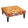 Skyline Furniture Fullerton Tangerine Square Ottoman