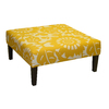 Skyline Furniture Fullerton Sungold Square Ottoman