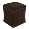 Skyline Furniture Armitage Chocolate Square Ottoman