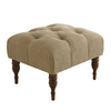 Skyline Furniture Southport Collection Sandstone Rectangle Ottoman