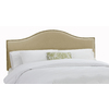 Skyline Furniture Armitage Buckwheat King Velvet Upholstered Headboard