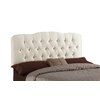 Skyline Furniture Quincy Collection Pearl Full Textured Cotton Headboard
