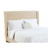 Skyline Furniture Diversey Collection Buckwheat King Velvet Headboard