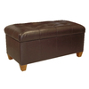 Skyline Furniture Jackson Brown Accent Bench