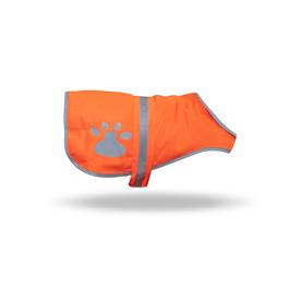 Petflect Orange Cotton Blend Unisex Jacket
