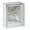 REDI2SET Glass Block (Common: 8-in H x 6-in W x 3-in D; Actual: 7.75-in H x 5.75-in W x 3.12-in D)