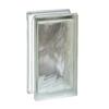REDI2SET Glass Block (Common: 8-in H x 4-in W x 4-in D; Actual: 7.75-in H x 3.75-in W x 3.875-in D)