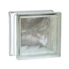 REDI2SET Glass Block (Common: 6-in H x 6-in W x 4-in D; Actual: 5.75-in H x 5.75-in W x 3.875-in D)