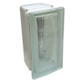 Shop redi2set glass block common 8 in h x 4 in w x 4 in for Glass blocks for crafts lowes