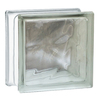 REDI2SET Glass Block (Common: 8-in H x 8-in W x 4-in D; Actual: 7.75-in H x 7.75-in W x 3.875-in D)