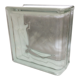 Shop redi2set glass block common 8 in h x 8 in w x 4 in for Glass blocks for crafts lowes