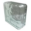 REDI2SET Glass Block (Common: 8-in H x 8-in W x 4-in D; Actual: 7.75-in H x 7.75-in W x 3.875-in D)