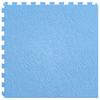 Perfection Floor Tile LVT 6-Piece 20-in x 20-in Sky Blue Floating Slate Luxury Vinyl Tile
