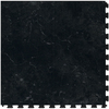 Perfection Floor Tile 20-1/2-in W x 20-1/2-in L Cambrian Black Slate Garage Vinyl Tile