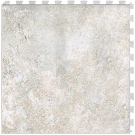 Perfection Floor Tile 6-Piece 20.5-in x 20.5-in Field Stone Slate Garage Floor Tile
