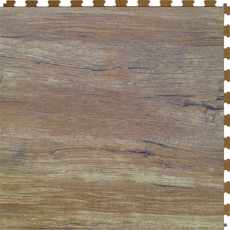 Shop Perfection Floor Tile 6 Pack Homestyle 20 In X 20 In Walnut