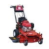 Worldlawn 337-cc 32-in Key Start Self-Propelled Rear Wheel Drive 2-in-1 Gas Lawn Mower with Mulching Capability