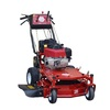 Worldlawn 344cc 28-in Key Start Self-Propelled Rear Wheel Drive 2-In-1 Gas Push Lawn Mower with Mulching Capable