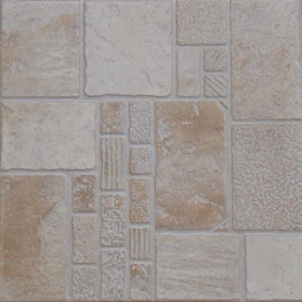 Shop floors 2000 11 pack toledo beige glazed porcelain indoor outdoor floor tile common 13 in - Lowes in toledo ...