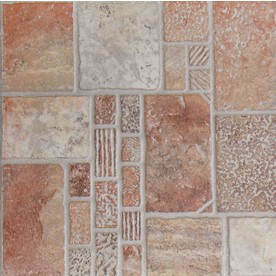 Shop floors 2000 11 pack 13 in x 13 in toledo cotto glazed porcelain floor tile at - Lowes in toledo ...