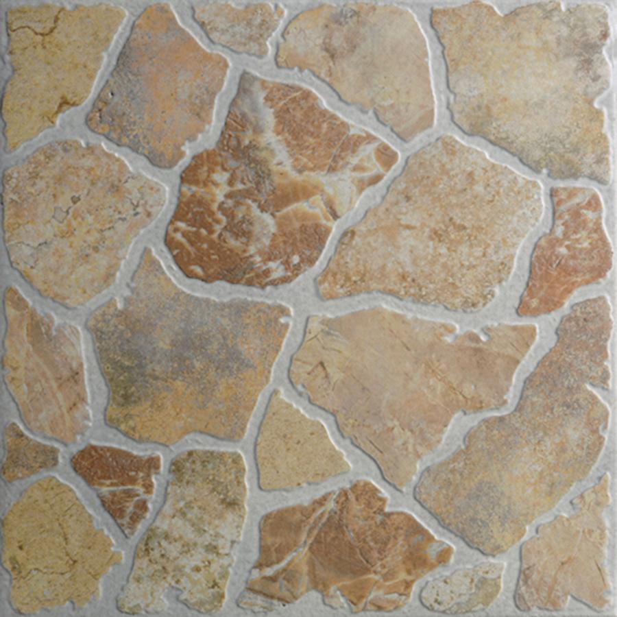 Shop Floors 2000 7 Pack Stone Henge Rosso Glazed Porcelain Indoor Outdoor Floor Tile Common 18