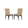 allen + roth Set of 2 Dellinger Aluminum Patio Dining Chairs