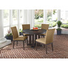 allen + roth Dellinger Top Aged Bronze Round Patio Dining Table