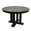 allen + roth Dellinger 48-in x 48-in Aluminum Round Patio Dining Table