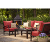 allen + roth Gatewood 2-Piece Aluminum Patio Conversation Set