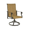 allen + roth Safford 2-Count Brown Aluminum Patio Dining Chairs