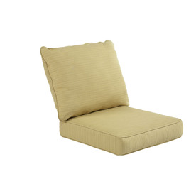 allen + roth Sunbrella Dupione Bamboo Deep Seat Patio Chair Cushion