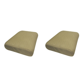 allen + roth Dupione Bamboo Solid Cushion for Universal Use