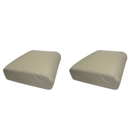 allen + roth Spectrum Sand Solid Cushion for Universal Use