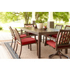 allen + roth Gatewood 2-Count Brown Aluminum Dining Chair