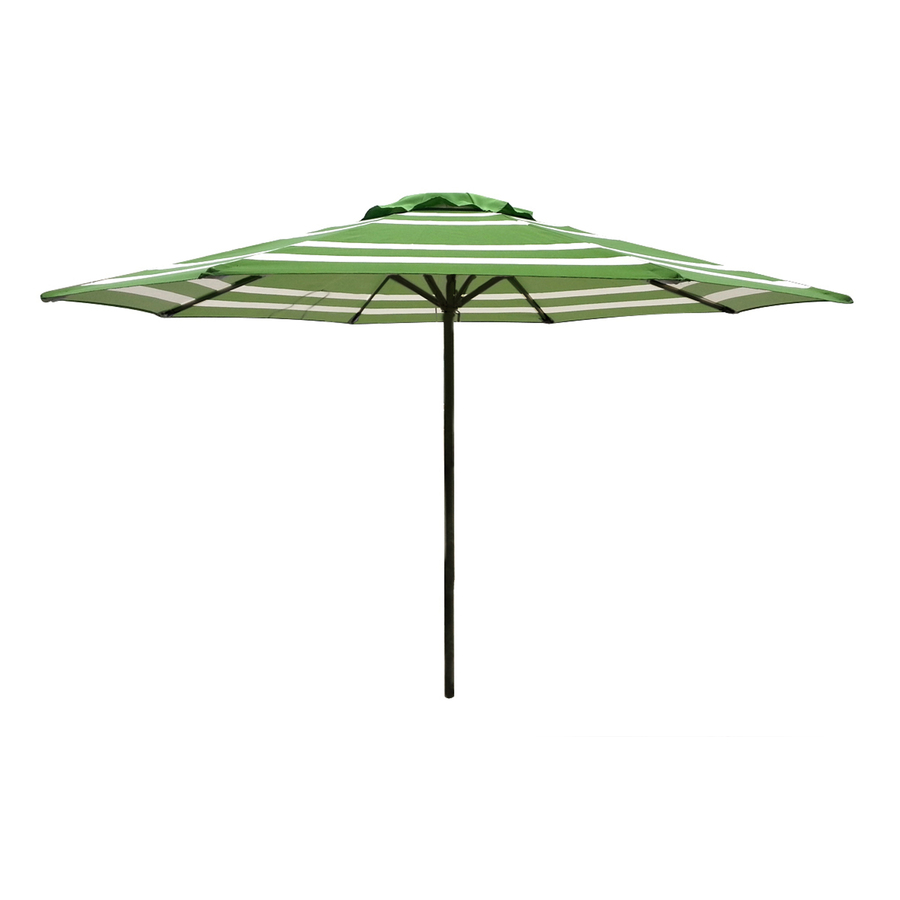"90"" Round Green Patio Umbrella"