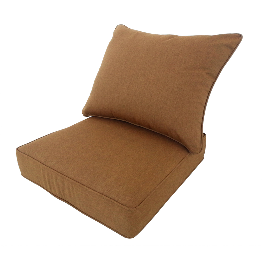Deep seat replacement cushions for outdoor furniture for Garden furniture cushions