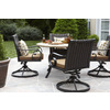 allen + roth Sunbrella Canvas Teak Brown Patio Chair Cushion