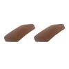 allen + roth Sunbrella Canvas Teak Brown Solid Cushion For Universal